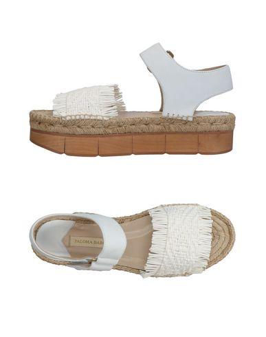 Фото - Женские сандали PALOMA BARCELÓ белого цвета