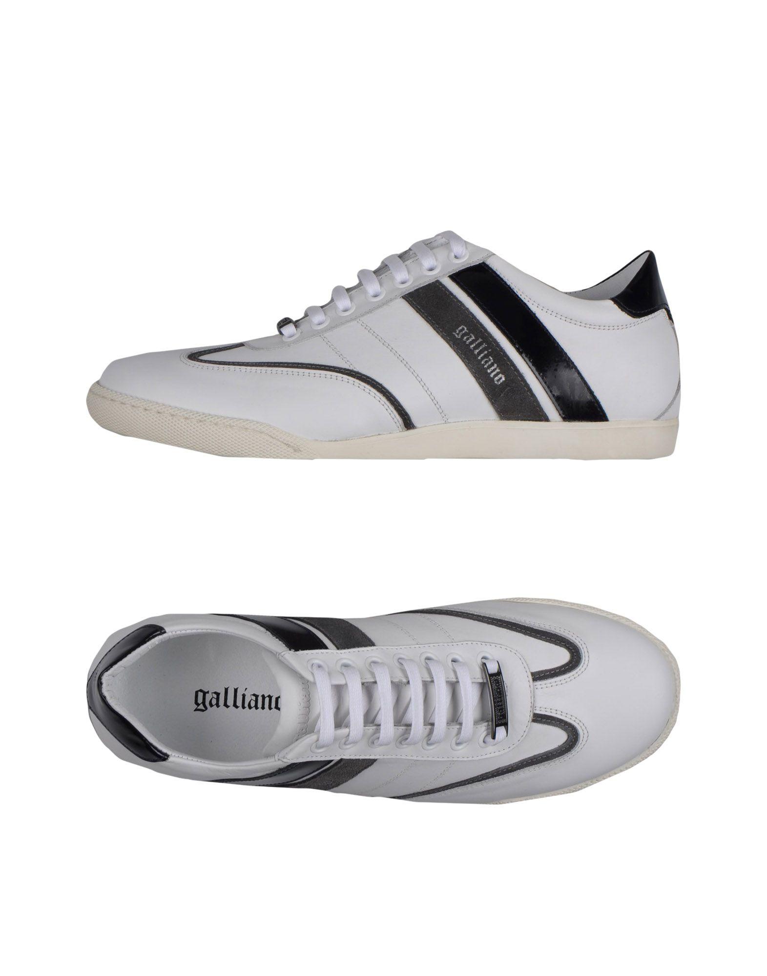 GALLIANO Низкие кеды и кроссовки