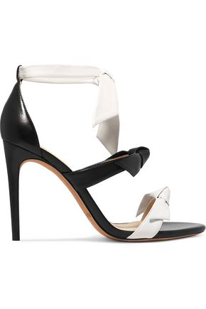 ALEXANDRE BIRMAN Lolita bow-embellished leather sandals