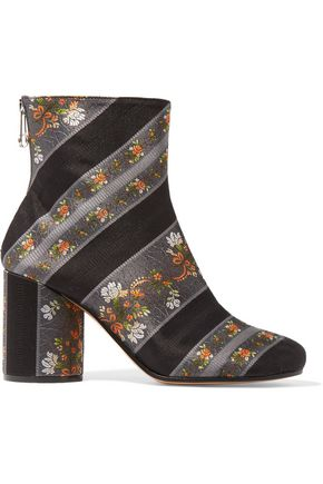 MAISON MARGIELA Jacquard ankle boots