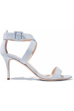GIUSEPPE ZANOTTI DESIGN Metallic nubuck sandals