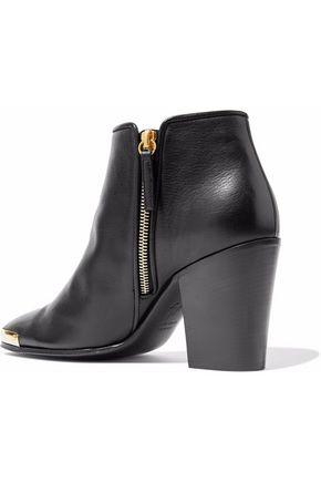 GIUSEPPE ZANOTTI Nicky leather ankle boots