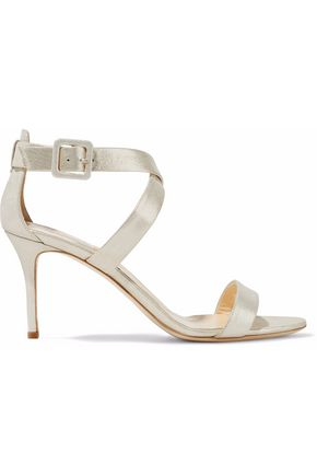 GIUSEPPE ZANOTTI DESIGN Quilted patent-leather sandals