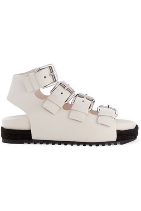 ALEXANDER WANG Buckled leather sandals