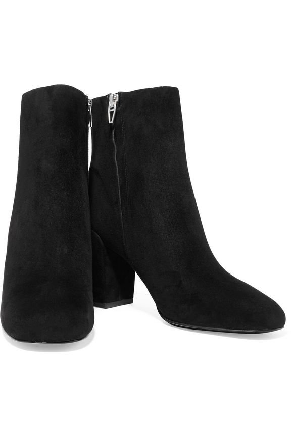 Hana suede ankle boots | ALEXANDER WANG | Sale up to 70% off | THE OUTNET