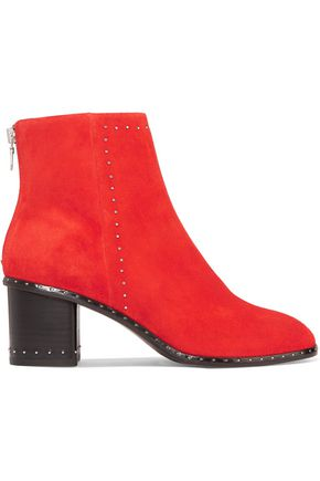 RAG & BONE Willow studded suede boots