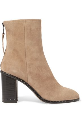 RAG & BONE Blyth studded suede ankle boots
