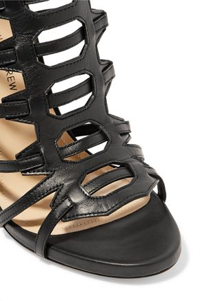 PAUL ANDREW Athena cutout leather sandals