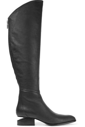 ALEXANDER WANG Sigrid leather knee boots