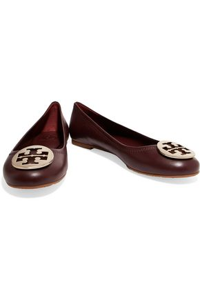 TORY BURCH Reva leather ballet flats