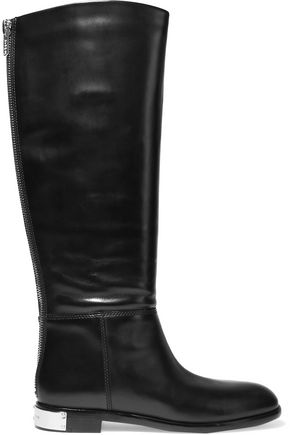 MARC BY MARC JACOBS Kip leather knee boots
