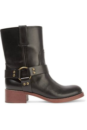 MARC JACOBS Campbell leather ankle boots