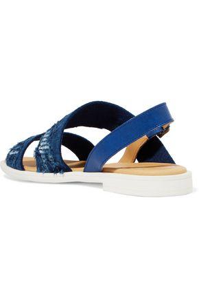 MM6 MAISON MARGIELA Fil coupé and leather sandals