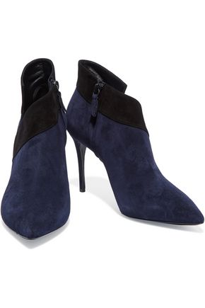 CASADEI Suede ankle boots