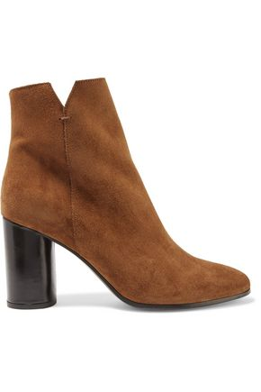 MAJE Foly suede ankle boots