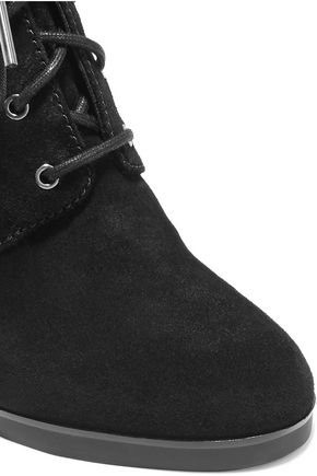 MICHAEL MICHAEL KORS Carrigan suede wedge ankle boots