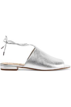 SAM EDELMAN Tai metallic leather sandals