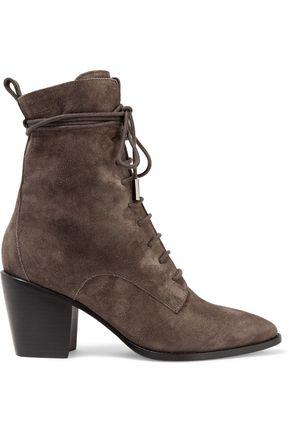 SIGERSON MORRISON Lace-up suede boots