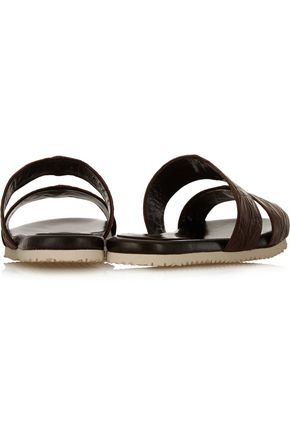 ADAM LIPPES Crocodile slides
