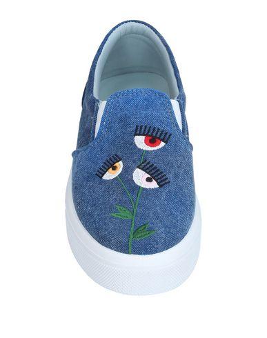 Фото 2 - Низкие кеды и кроссовки от CHIARA FERRAGNI синего цвета