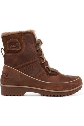 SOREL Tivoli II™ Premium waterproof textured-leather boots