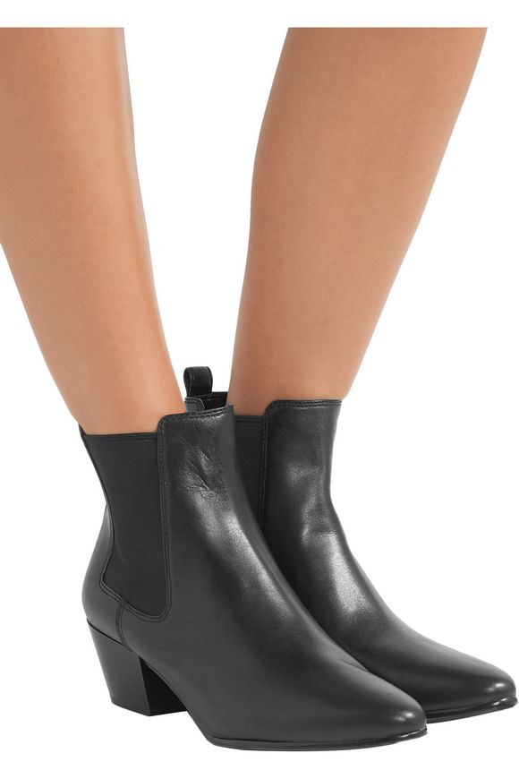 d37d6def8 Reesa leather Chelsea boots