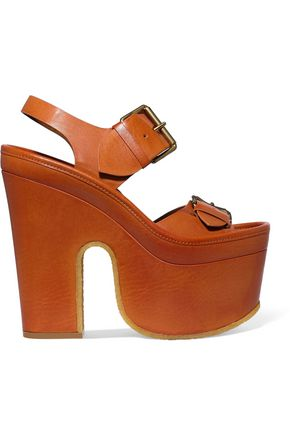 STELLA McCARTNEY Cowper faux leather platform sandals