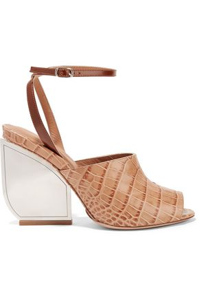 MAISON MARGIELA Croc-effect leather sandals