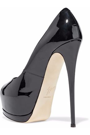 ... GIUSEPPE ZANOTTI DESIGN Patent-leather platform pumps