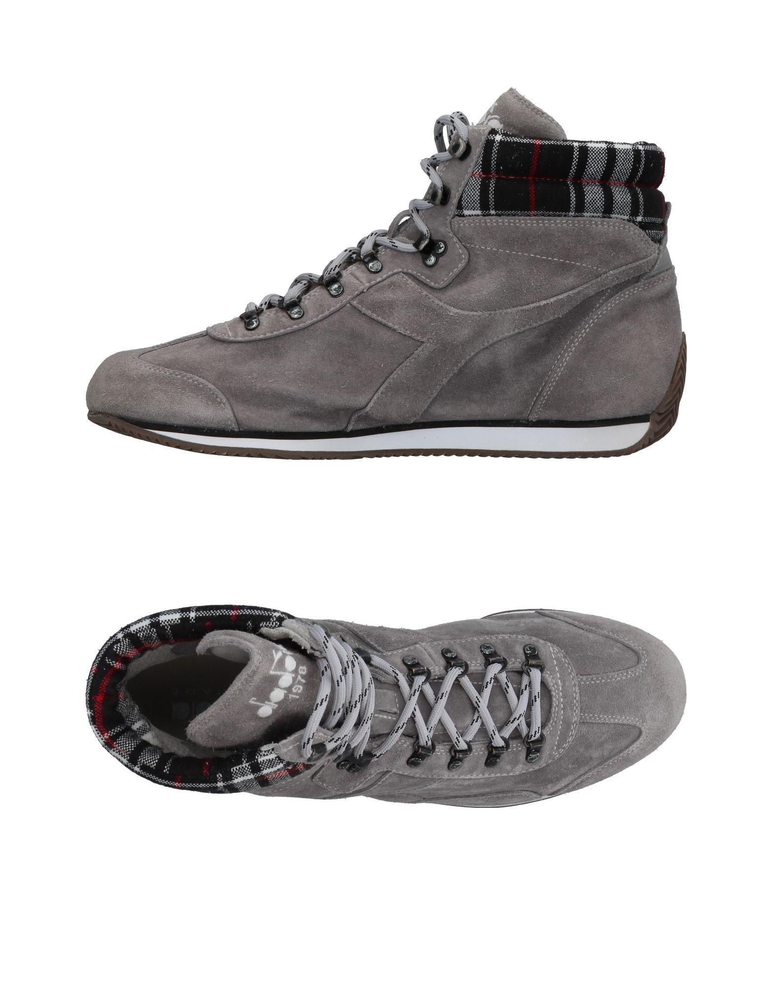 ФОТО diadora heritage высокие кеды и кроссовки
