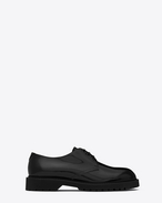 SAINT LAURENT Klassische Schuhe U LIVERPOOL 25 derby in black leather f