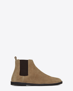SAINT LAURENT Boots U ORAN 25 Chelsea ankle boot in cigar suede f