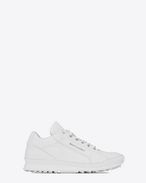 SAINT LAURENT Low Sneakers U Sneaker JUMP en cuir blanc f