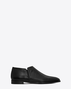 SAINT LAURENT Classic Shoes U SLIM 15 slipper in black leather f