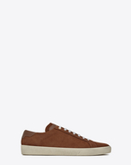 SAINT LAURENT SL/06 U COURT CLASSIC SL/06 sneakers in cigar suede f