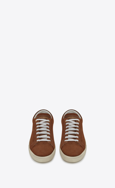 SAINT LAURENT SL/06 U COURT CLASSIC SL/06 sneakers in cigar suede b_V4