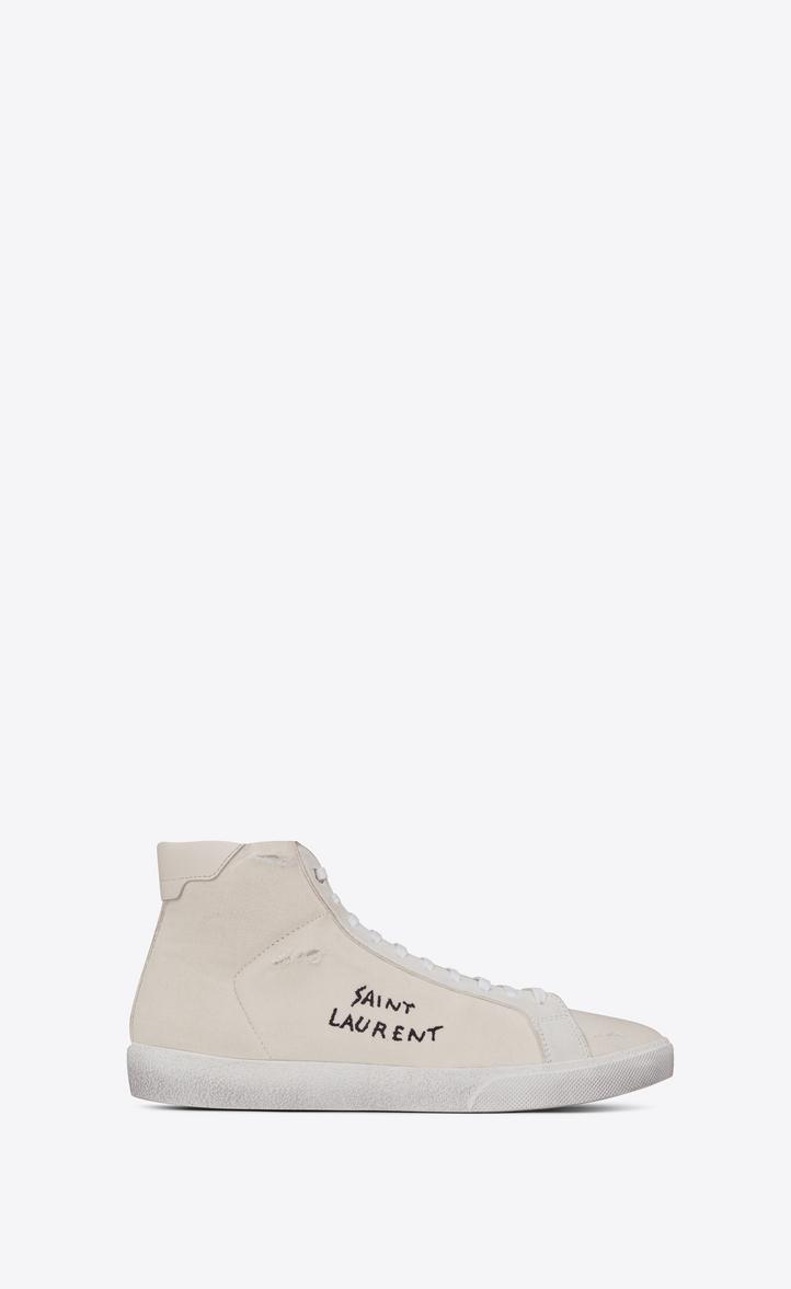 79b385e710df Saint Laurent Court Classic Sl 06 Sneaker In Cloth