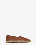 SAINT LAURENT Casual Shoes U Espadrille in cognac suede f