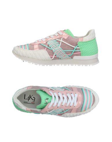 Фото - Низкие кеды и кроссовки от L4K3 сиреневого цвета