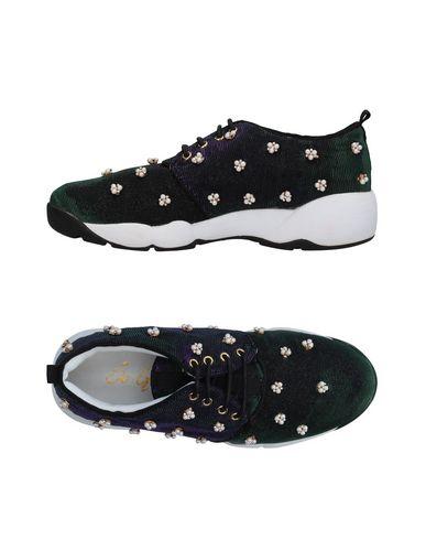 Фото - Низкие кеды и кроссовки от SO•QUEEN черного цвета
