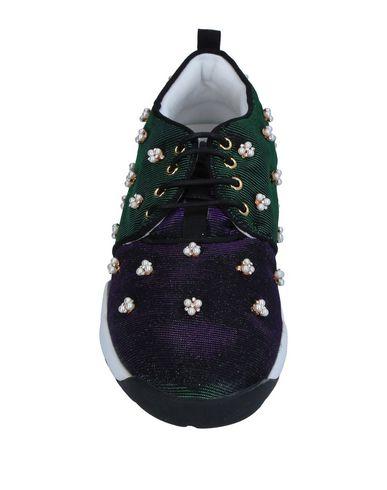 Фото 2 - Низкие кеды и кроссовки от SO•QUEEN черного цвета