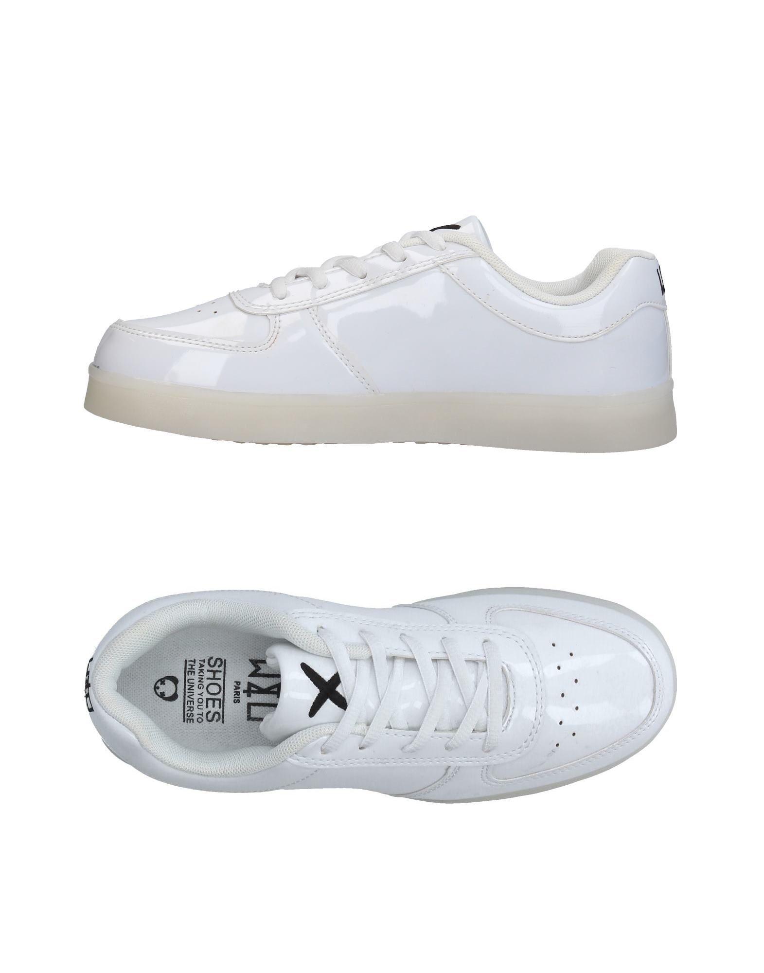 《送料無料》WIZE & OPE レディース スニーカー&テニスシューズ(ローカット) ホワイト 5.5 紡績繊維