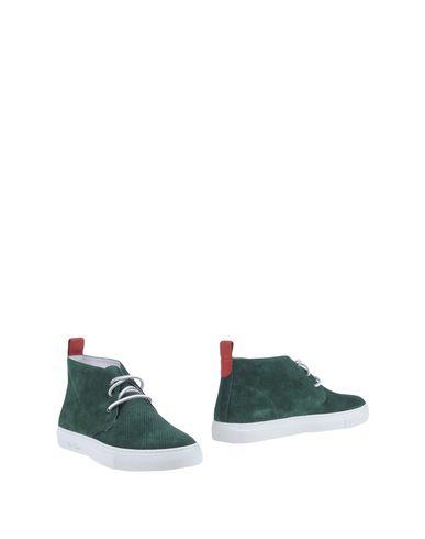 Фото - Полусапоги и высокие ботинки от DEL TORO темно-зеленого цвета