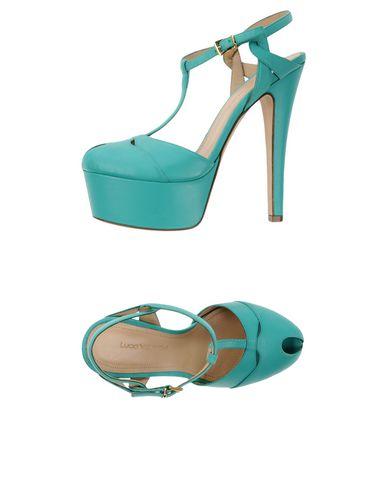 Купить Женские сандали  светло-зеленого цвета