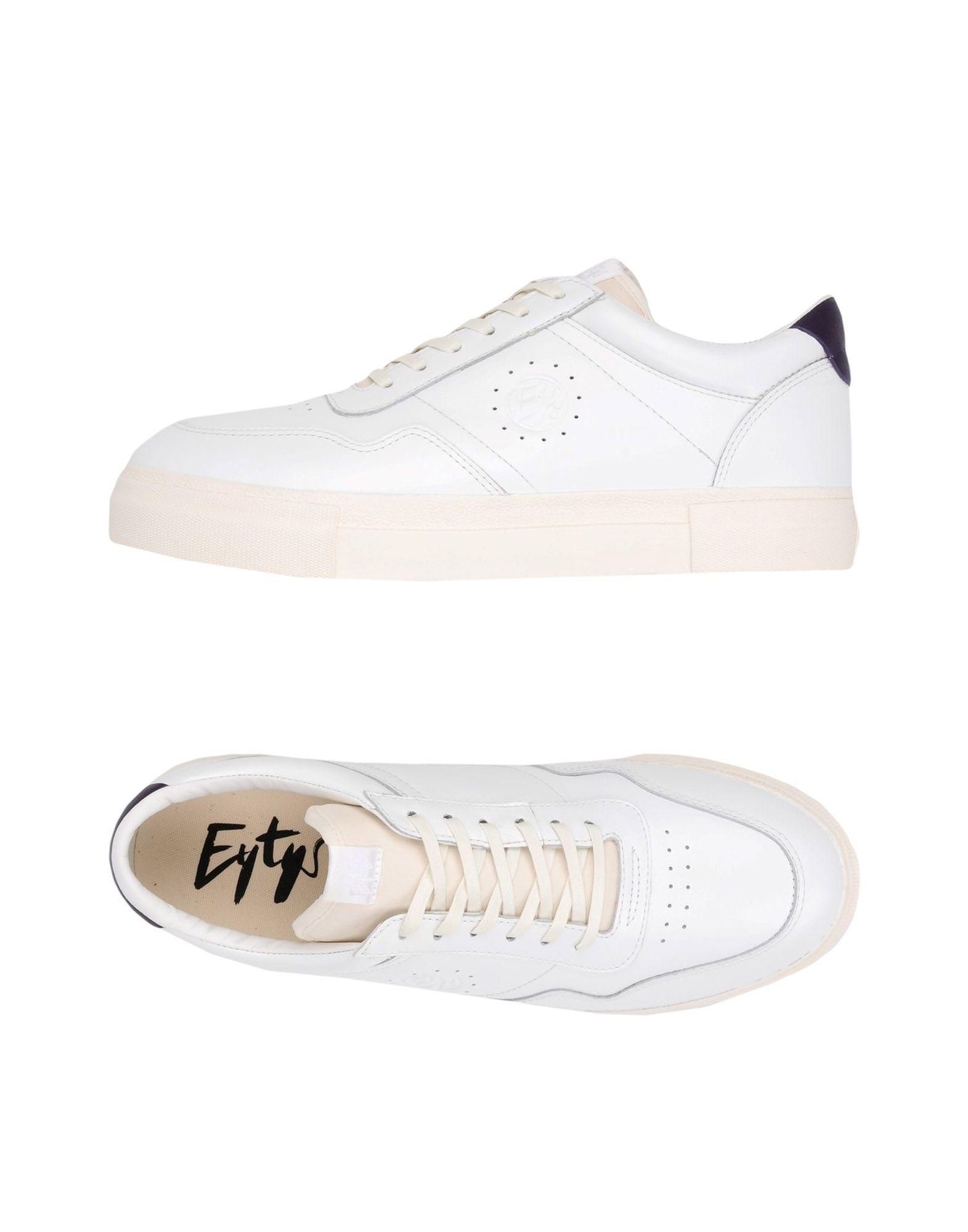 《送料無料》EYTYS レディース スニーカー&テニスシューズ(ローカット) ホワイト 36 革 / 紡績繊維