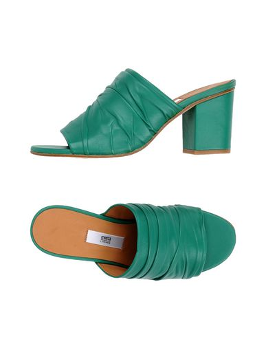 Фото - Женские сандали MIISTA зеленого цвета