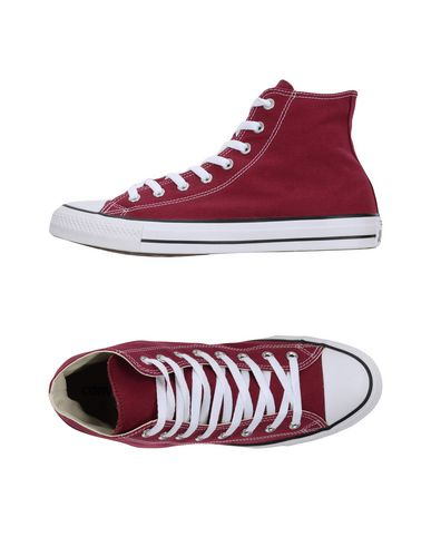 Фото - Высокие кеды и кроссовки от CONVERSE ALL STAR красно-коричневого цвета