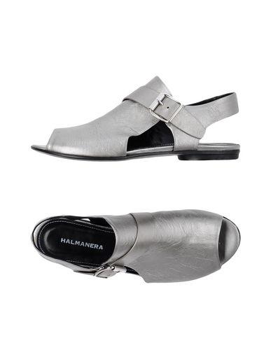 Фото - Женские сандали HALMANERA серого цвета