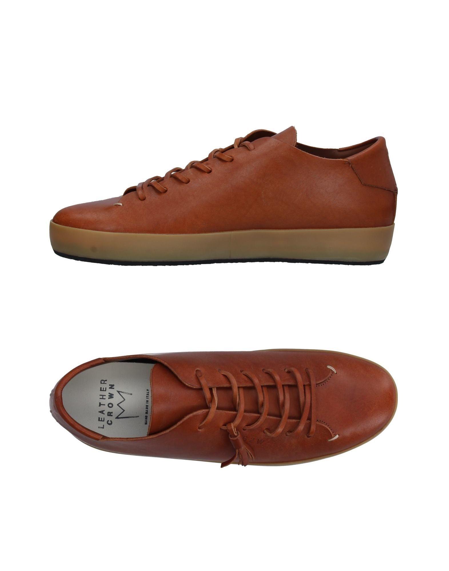 LEATHER CROWN Низкие кеды и кроссовки leather crown повседневные брюки