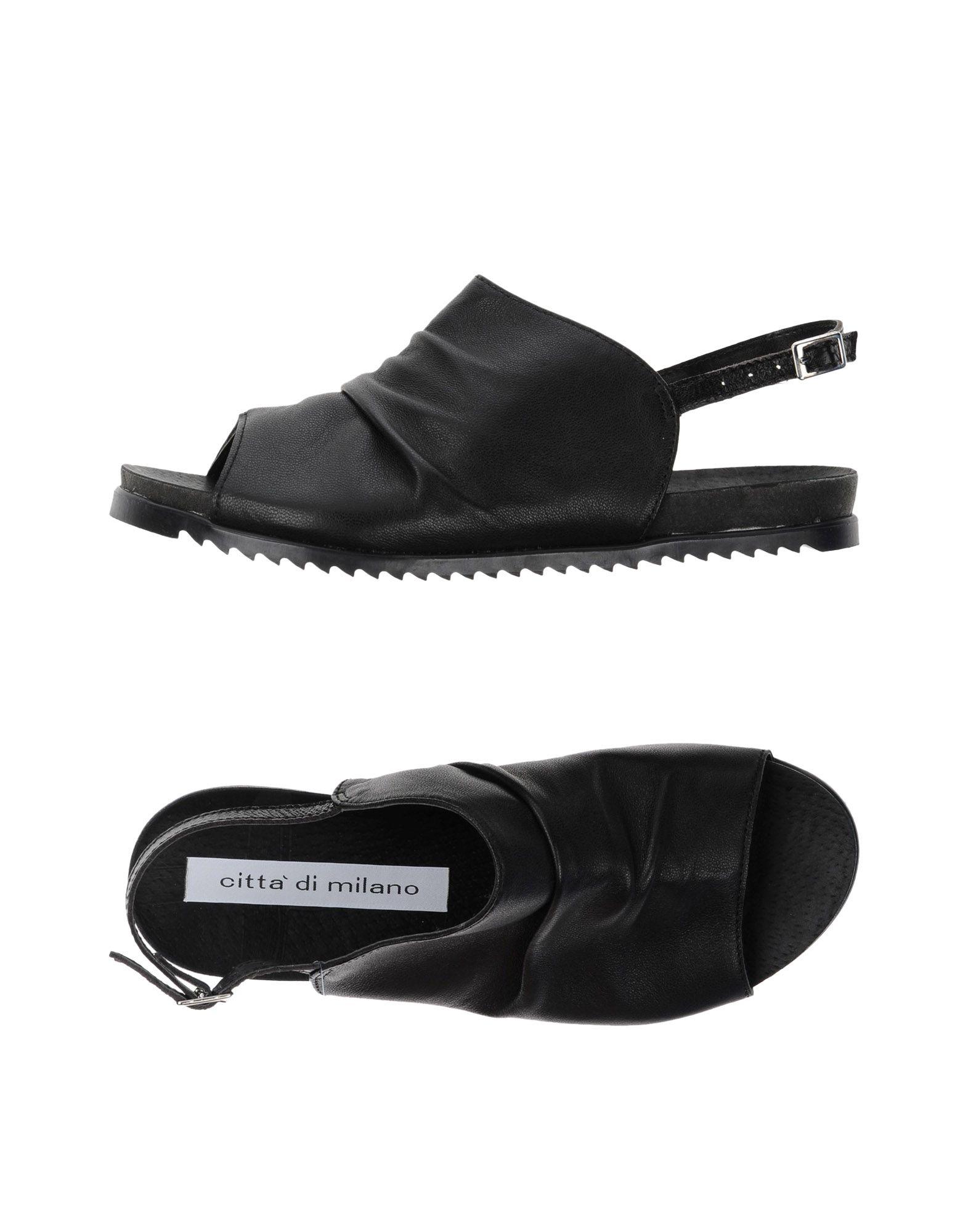 CITTA' DI MILANO Сандалии citta di milano обувь на шнурках